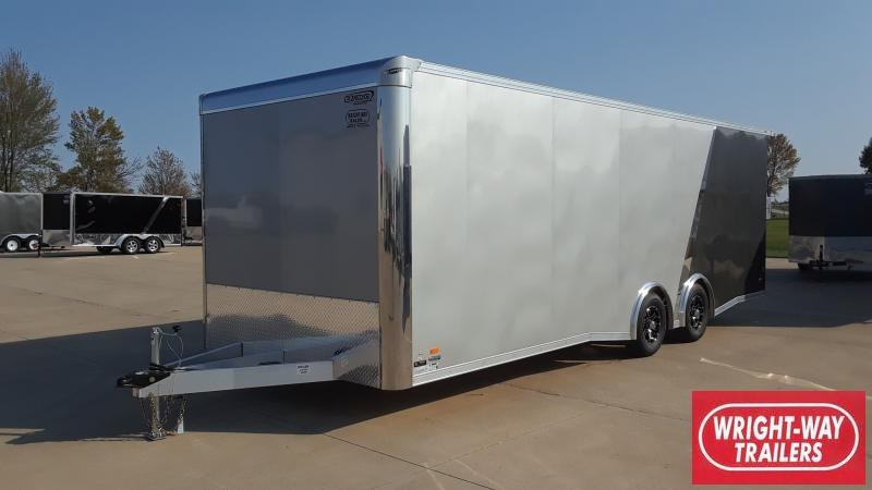2021 Bravo Trailers 8.5X24 ALUMINUM AUTO TRAILER Car / Racing Trailer