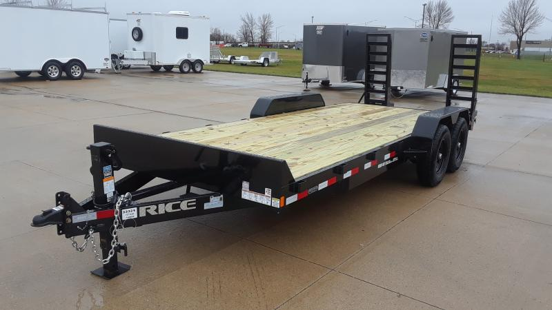 2021 Rice 20' EQUIPMENT TRAILER Equipment Trailer