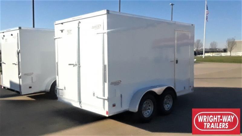 2021 Bravo Trailers 7x12 SCOUT CARGO Enclosed Cargo Trailer