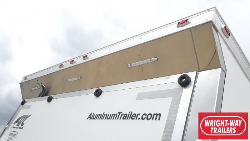 2021 ATC 8.5X40 GOOSE NECK CAR HAULER Car / Racing Trailer