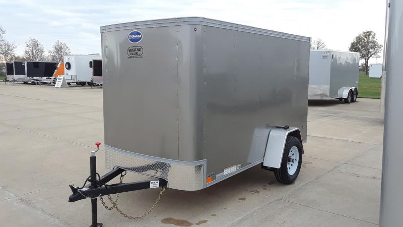 2021 United Trailers XLE 5X10 Enclosed Cargo Trailer