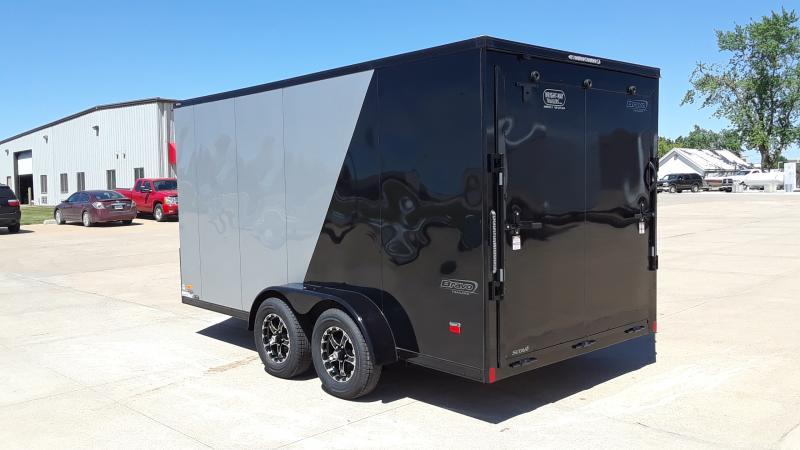 2022 Bravo Trailers 7X14 V NOSE CARGO SCOUT Enclosed Cargo Trailer
