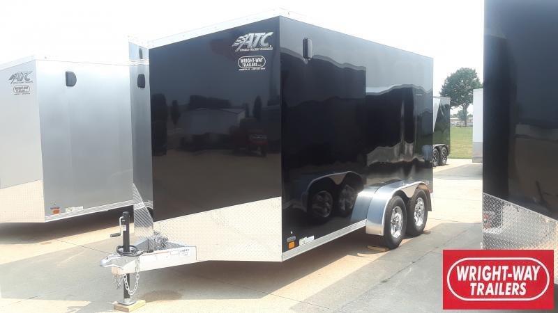 2022 ATC 7X14 ALUMINUM Enclosed Cargo Trailer