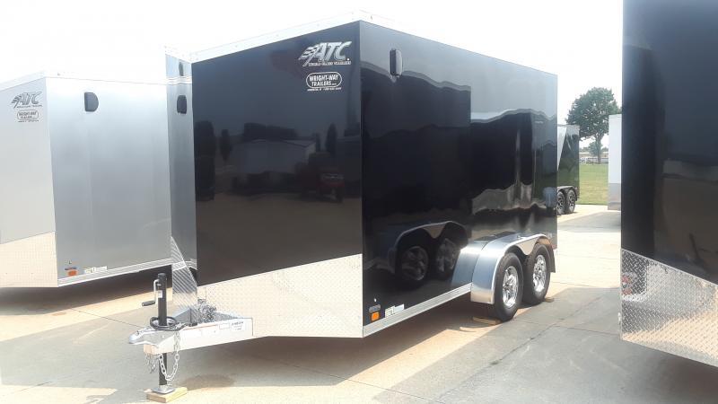 2022 ATC 7X14 ALUMINUM CARGO Enclosed Cargo Trailer