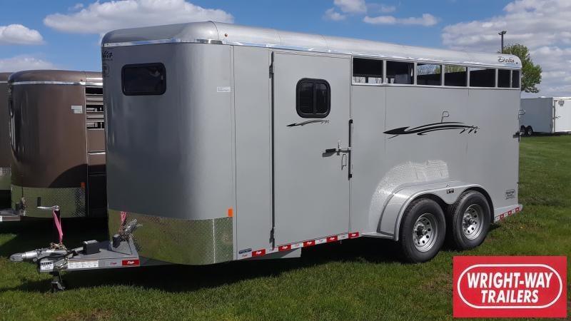 2019 Delta Manufacturing 3 HORSE BUMPER Horse Trailer