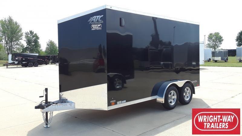 2022 ATC 7X14 ALUMINUM V NOSE Enclosed Cargo Trailer