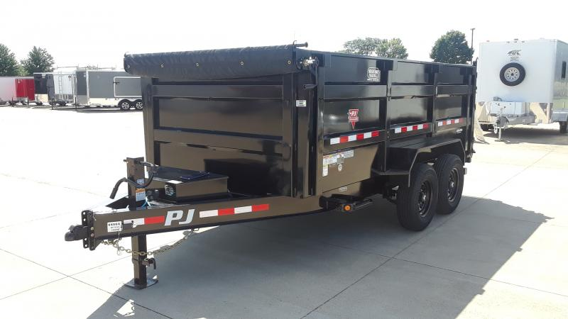 2021 PJ Trailers 14' LOW PRO HIGH SIDE DUMP Dump