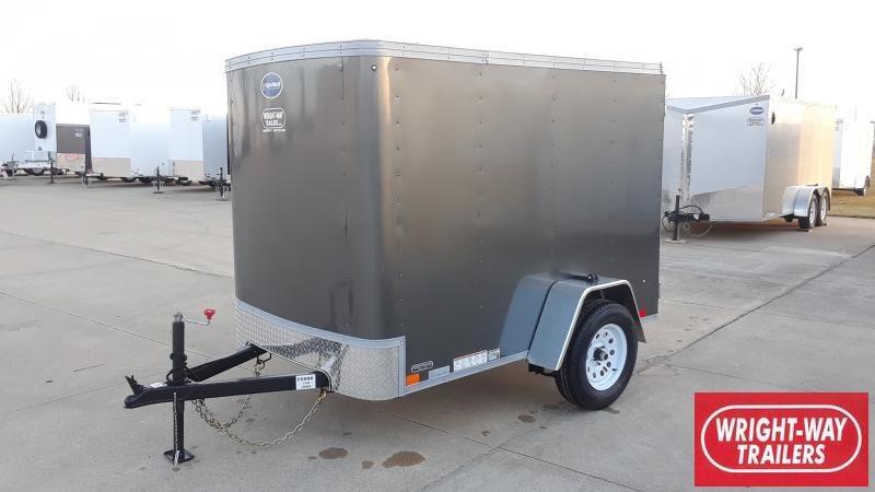 2021 United Trailers 5X8 CARGO Enclosed Cargo Trailer