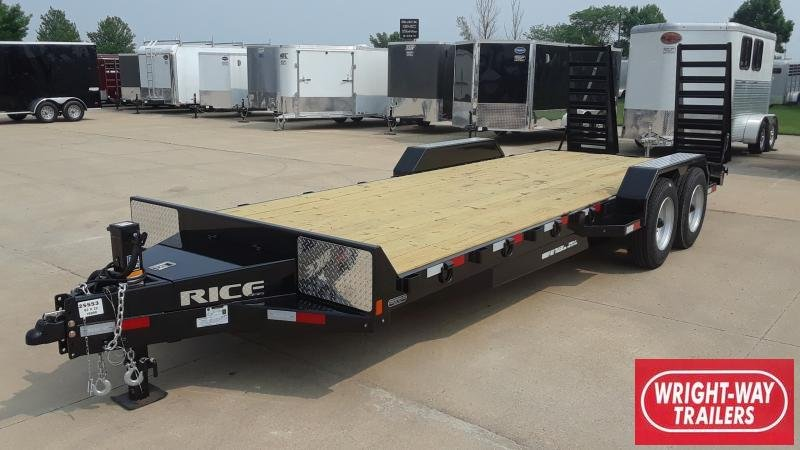 2020 Rice 22' Magnum Equipment HD Equipment Trailer