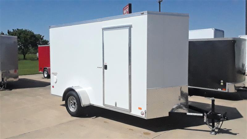 2020 Bravo Trailers 6X12 CARGO Enclosed Cargo Trailer