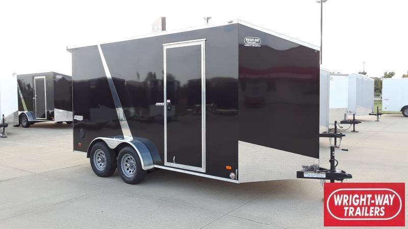 "2022 Bravo Trailers 7X14+30""V NOSE SCOUT Enclosed Cargo Trailer"