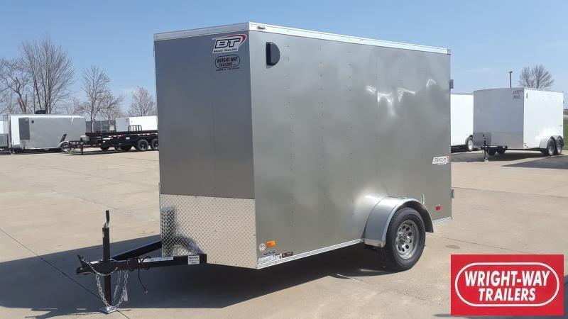"""2021 Bravo Trailers 6X10+18"""" V NOSE CARGO Enclosed Cargo Trailer"""