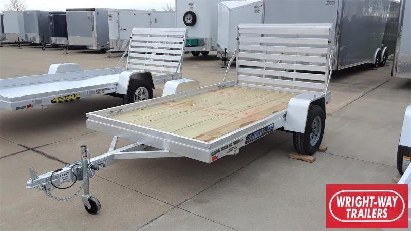 2021 Aluma 68 X 10 WOOD FLOOR Utility Trailer