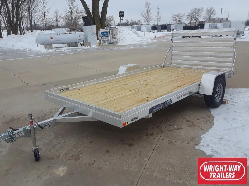 2020 Aluma 78 X 14 WOOD FLOOR Utility Trailer