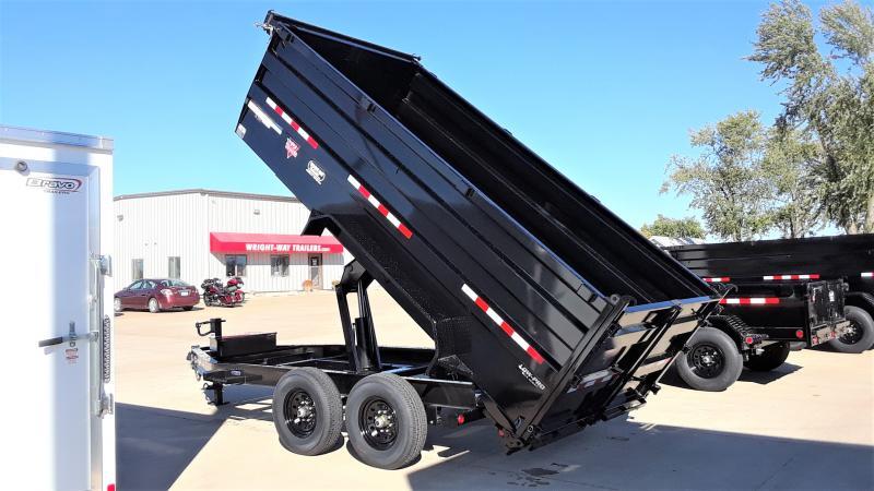 """2022 PJ Trailers 83""""X14' LOW PRO HIGH SIDE Dump"""