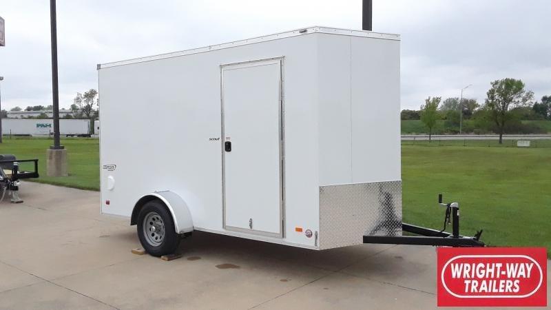 2022 Bravo Trailers 6X12 V NOSE CARGO Enclosed Cargo Trailer