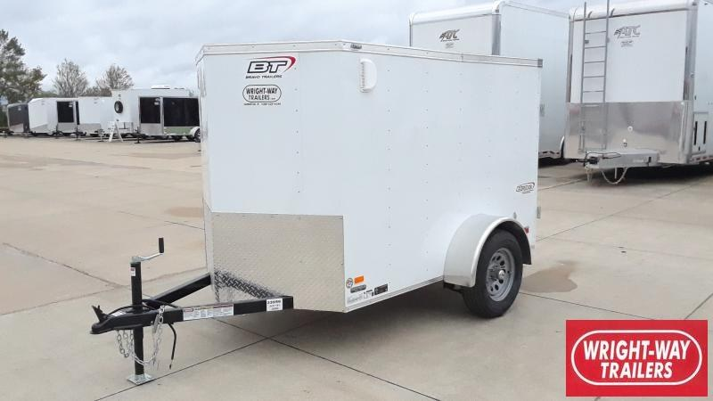 2021 Bravo Trailers 5X8 ENCLOSED Enclosed Cargo Trailer