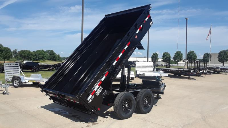 2021 PJ Trailers 83 X 12 LOW PRO DUMP Dump