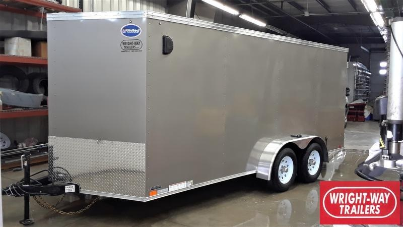 2020 United Trailers V NOSE CARGO Enclosed Cargo Trailer