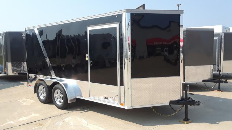 2021 United Trailers 7x14 MOTORCYCLE TRAILER Motorcycle Trailer