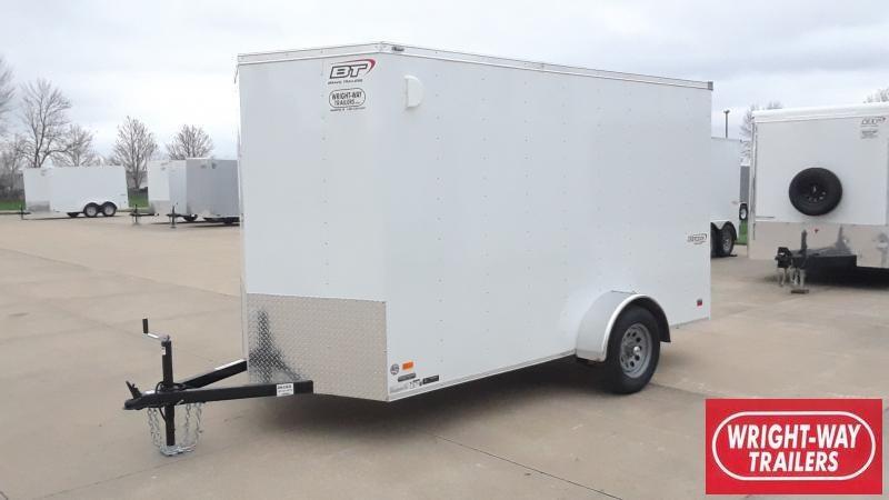 2021 Bravo Trailers 6X12 V NOSE CARGO Enclosed Cargo Trailer