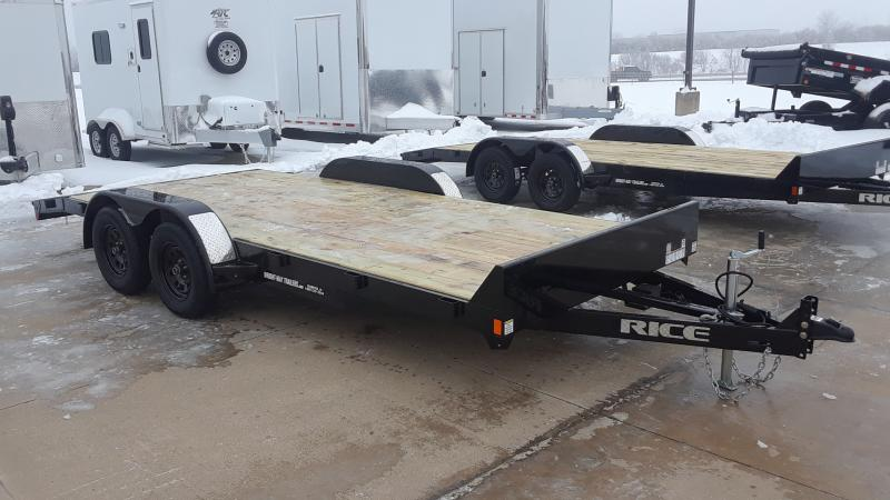 2021 Rice 18' CAR HAULER 16+2 Car / Racing Trailer