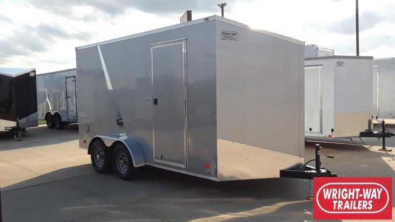 2022 Bravo Trailers 7X14 V NOSE SCOUT Enclosed Cargo Trailer