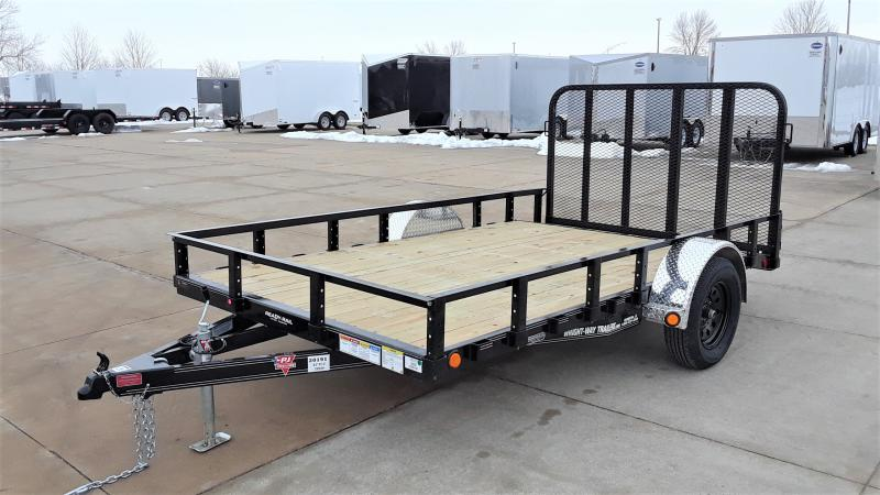 "2021 PJ Trailers 83""X12' CHANNEL UTILITY Utility Trailer"