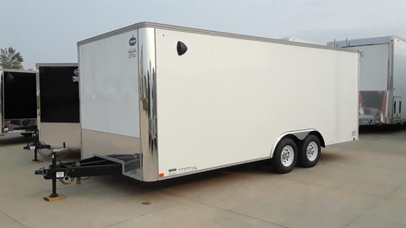 2021 United Trailers 8.5 x 20  HEAVY AXLES Car / Racing Trailer
