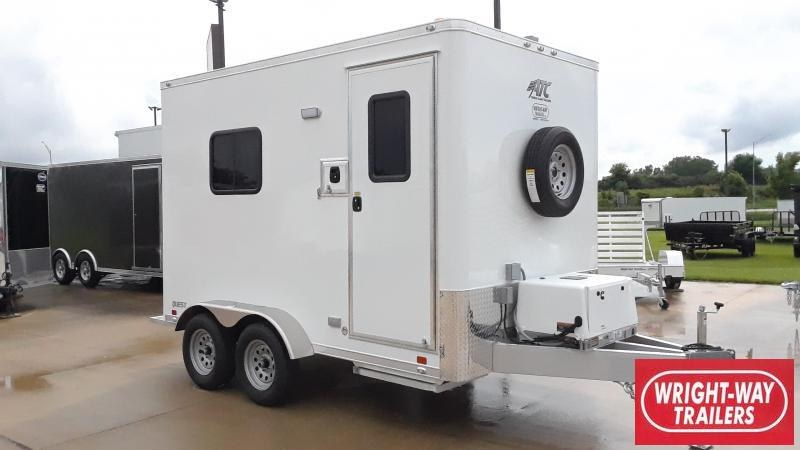 2021 ATC 7 X 12 FIBER OPTIC SPLICING TRAILER Enclosed Cargo Trailer