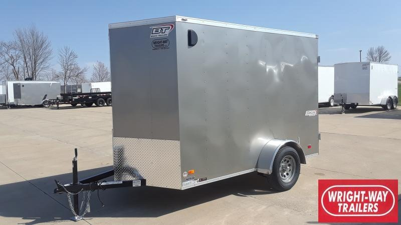 "2021 Bravo Trailers 6X10+18"" V NOSE CARGO Enclosed Cargo Trailer"