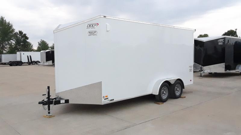 2022 Bravo Trailers 7 X16 V NOSE ENCLOSED Enclosed Cargo Trailer