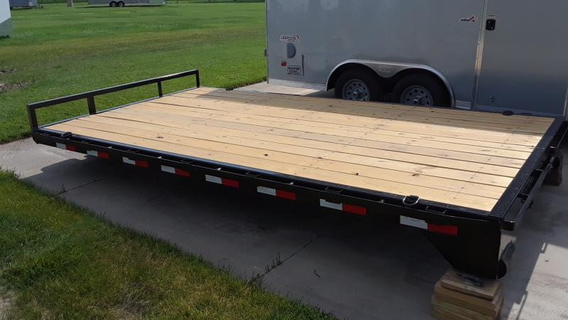 2021 PJ Trailers 96X14 ROLL OFF DECK Flatbed Trailer