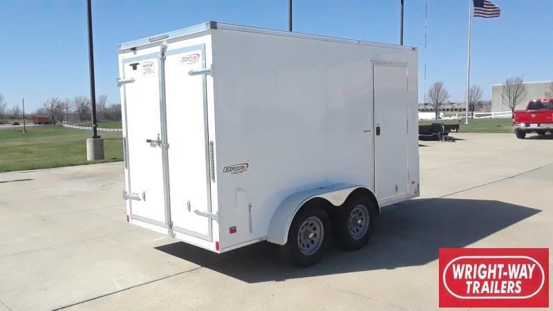 2021 Bravo Trailers 6X12 V NOSE TANDEM CARGO Enclosed Cargo Trailer