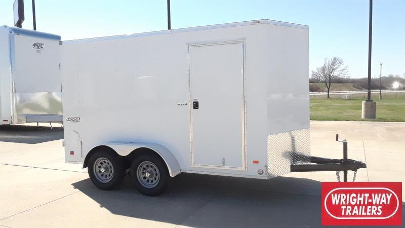 2021 Bravo Trailers 6X12 V NOSE TANDEM CARGO Enclosed Cargo Trailer