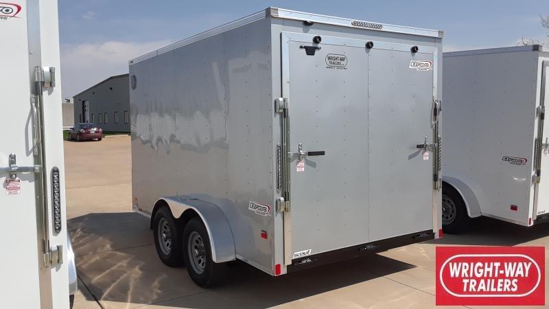 2021 Bravo Trailers 7X12 V NOSE CARGO Enclosed Cargo Trailer