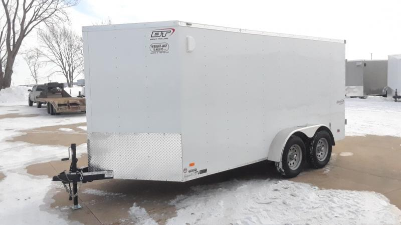 2021 Bravo Trailers 7X14 V NOSE CARGO Enclosed Cargo Trailer