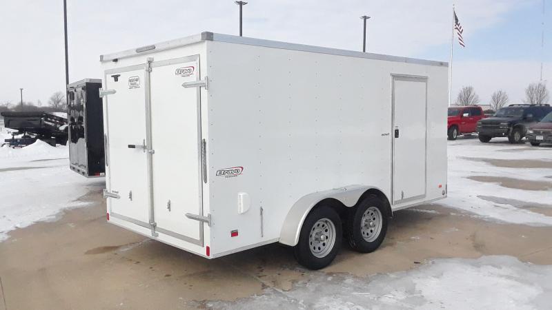 2021 Bravo Trailers 7X14 V NOSE CARGO Enclosed Cargo Trailer