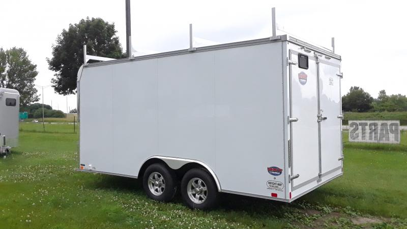 2021 United Trailers ENCLOSED FLAT TOP Enclosed Cargo Trailer