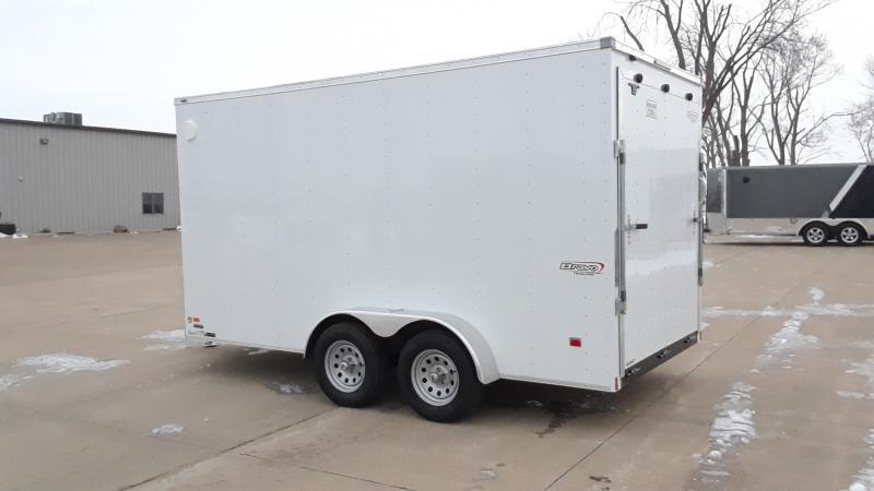 """2021 Bravo Trailers 7X14+30""""WEDGE CARGO Enclosed Cargo Trailer"""