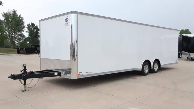 2022 United Trailers 28' CAR HAULER Enclosed Cargo Trailer