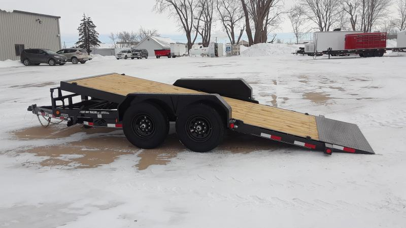 2021 PJ Trailers 16' TILT EQUIPMENT Equipment Trailer