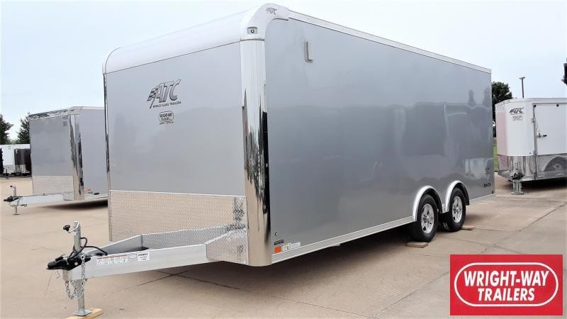 2021 ATC RAVEN 8.5 X 20 ALUMINUM Car / Racing Trailer