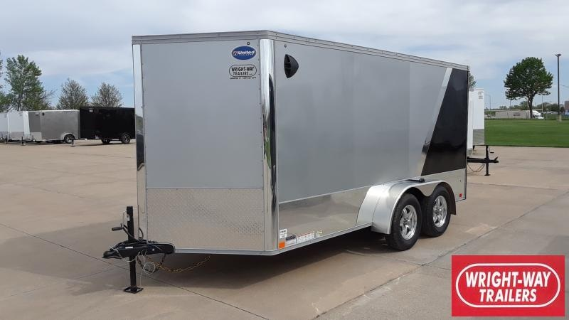 2022 United Trailers 7x14 MOTORCYCLE TRAILER Motorcycle Trailer