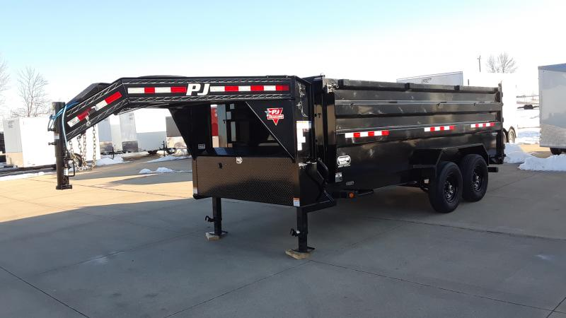2021 PJ Trailers 16' HIGH SIDE DUMP Dump