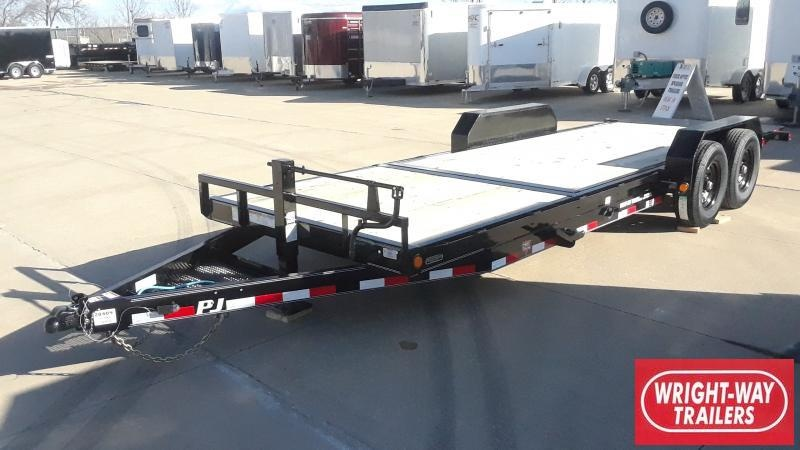2020 PJ Trailers 22FT EQUIPMENT TILT Equipment Trailer