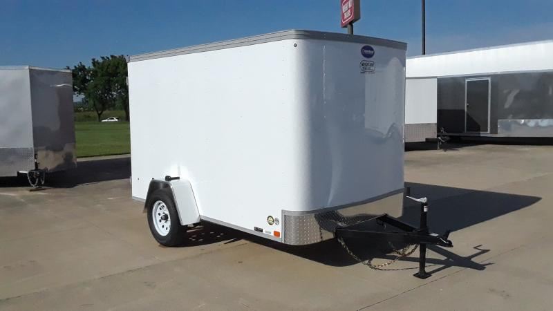 2021 United Trailers 6X10 FLAT FRONT CARGO Enclosed Cargo Trailer