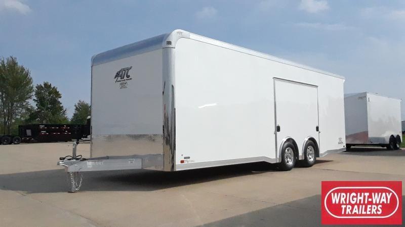2022 ATC 24' ALUMINUM CAR HAULER RAVEN Car / Racing Trailer