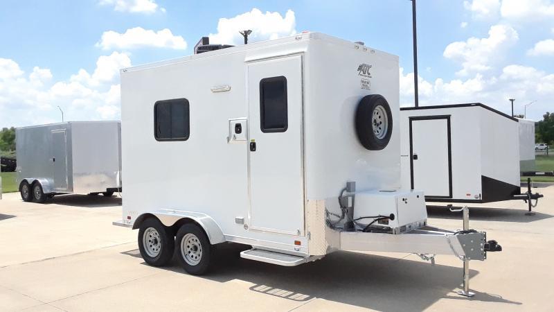 2021 ATC 7X12 FIBER OPTIC Enclosed Cargo Trailer