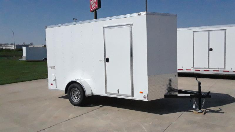 "2021 Bravo Trailers 6X12+18""V CARGO Enclosed Cargo Trailer"